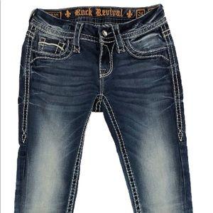 Rock Revival Women's Etty Low Rise Skinny Jeans
